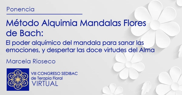 Método Alquimia Mandalas Flores de Bach