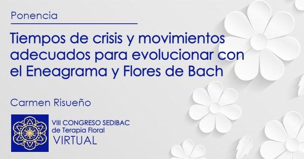 Tiempos de crisis y movimientos adecuados para evolucionar con el Eneagrama y Flores de Bach